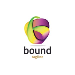 Modern 3d Letter B Logo