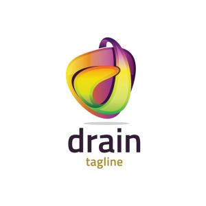 Modern 3d Letter D Logo