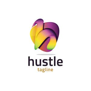 Modern 3d Letter H Logo