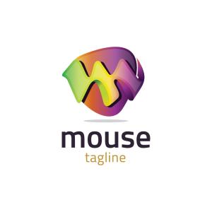 Modern 3d Letter M Logo