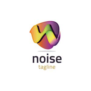 Modern 3d Letter N Logo