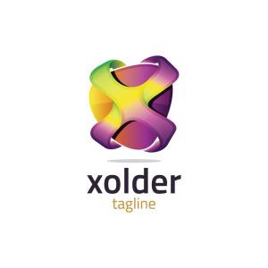 Modern 3d Letter X Logo
