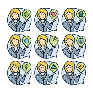 Secretary Icon Vector