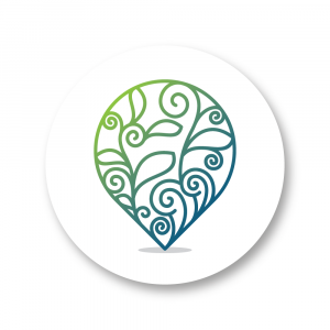 Nature Place Icon Vector