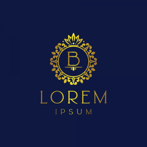 Regal Luxury Letter 'B' Logo Template
