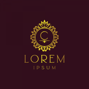 Regal Luxury Letter 'C' Logo Template