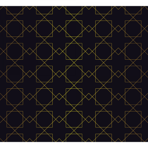 Square Gold Background
