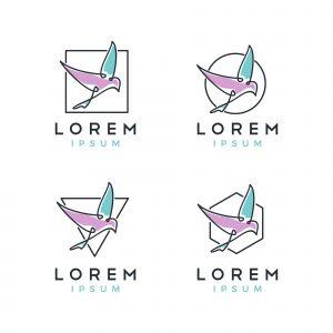 Bird Logo Set