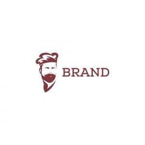 Beard Chef Logo Template