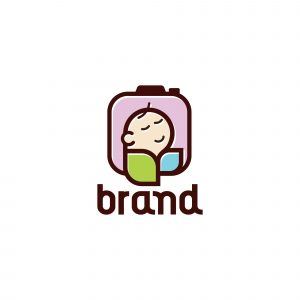 Camera Baby Logo Template