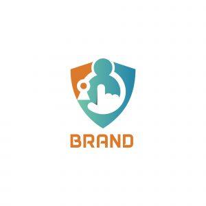 Data Protect Logo Template