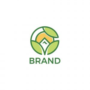 Eco Mountain Logo Template