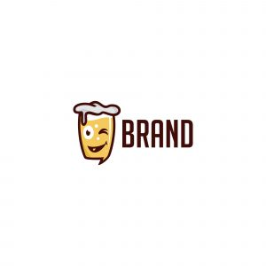 Happy Beer Logo Template