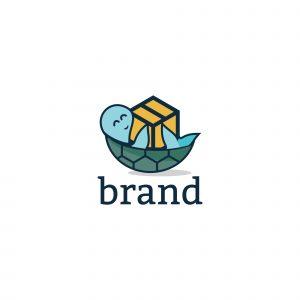 Happy Box Logo Template