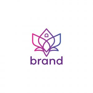Lotus House Logo Template