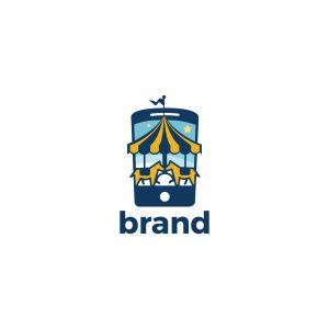 Mobile Fun Logo Template