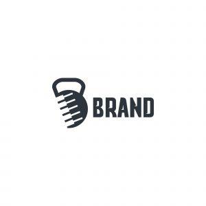 Piano Gym Logo Template