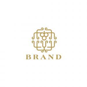 Wine Decor Logo Template