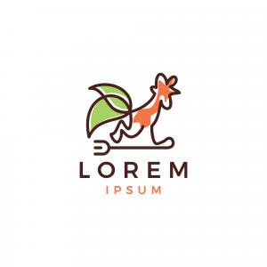 Chicken Food Logo Template