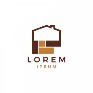 Home Building Logo Template
