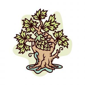 Hop Tree Illustration