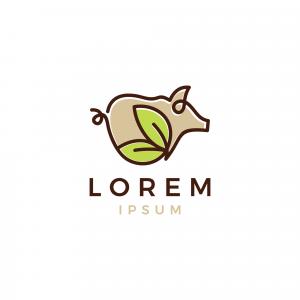 Pork Logo Template