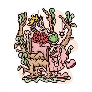 Skeleton King Illustration