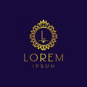 Regal Luxury Letter L Logo Template