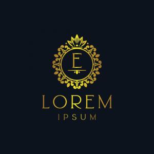 Regal Luxury Letter E Logo Template