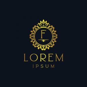Regal Luxury Letter F Logo Template