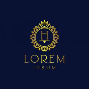 Regal Luxury Letter H Logo Template