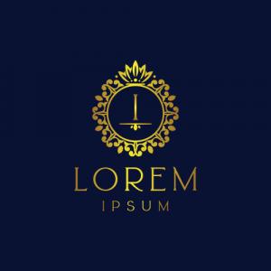 Regal Luxury Letter I Logo Template