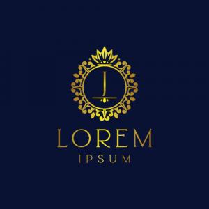 Regal Luxury Letter J Logo Template
