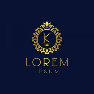 Regal Luxury Letter K Logo Template
