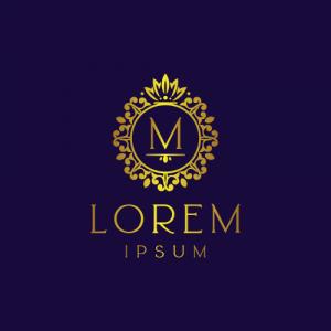 Regal Luxury Letter M Logo Template