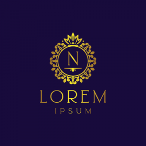 Regal Luxury Letter N Logo Template