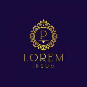 Regal Luxury Letter P Logo Template