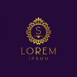 Regal Luxury Letter S Logo Template