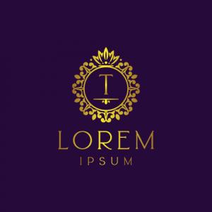 Regal Luxury Letter T Logo Template