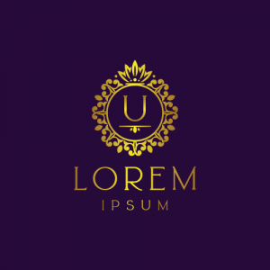 Regal Luxury Letter U Logo Template