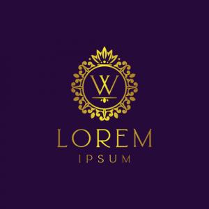Regal Luxury Letter W Logo Template