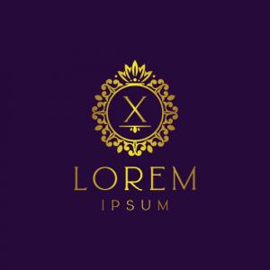 Regal Luxury Letter X Logo Template
