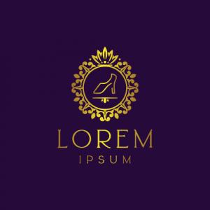 Regal Luxury Shoe Logo Template