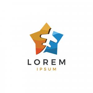 Star Trip Logo Template